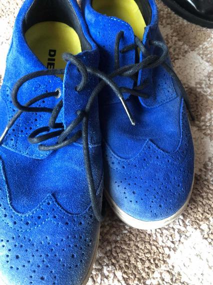 Zapatos De Gamuza Diesel