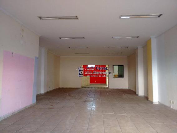 Loja Para Alugar, 170 M² Por R$ 5.500,00/mês - Encruzilhada - Santos/sp - Lo0003
