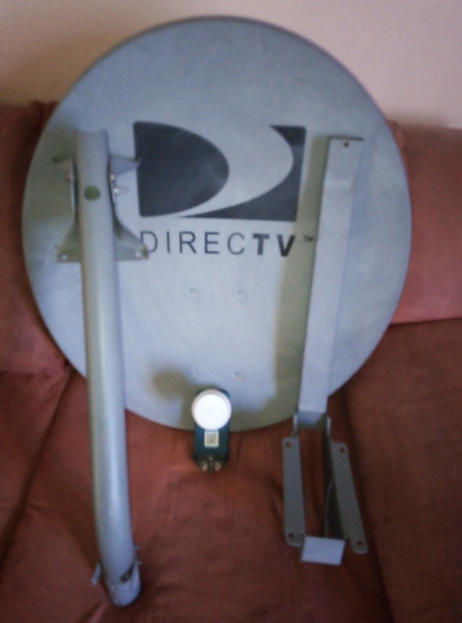 Kit De Antena Directv Foco Lente Lbn Gris Hd Dual Usada. 20$