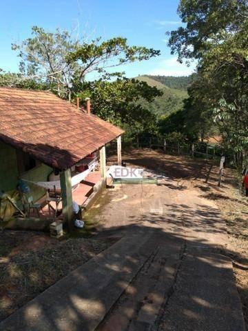Imagem 1 de 4 de Chácara Com 2 Dormitórios À Venda, 2600 M² Por R$ 318.000,00 - Jaguari - São José Dos Campos/sp - Ch0463