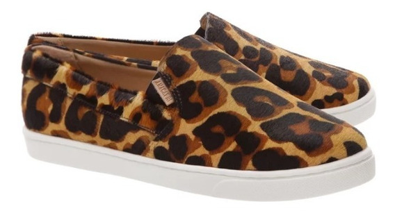 Tênis Anacapri Slip On Animal Print #184