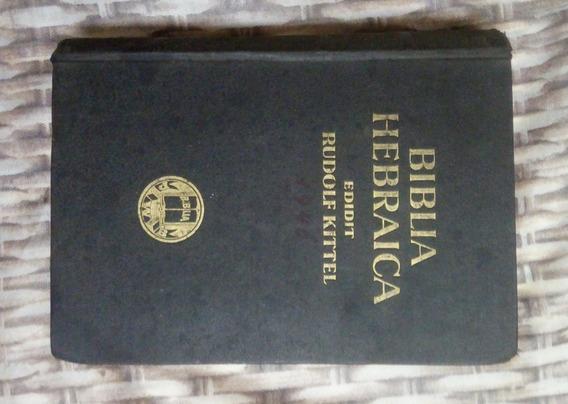 Bíblia Hebraica Rudolf Kittel Edição Rara 1949