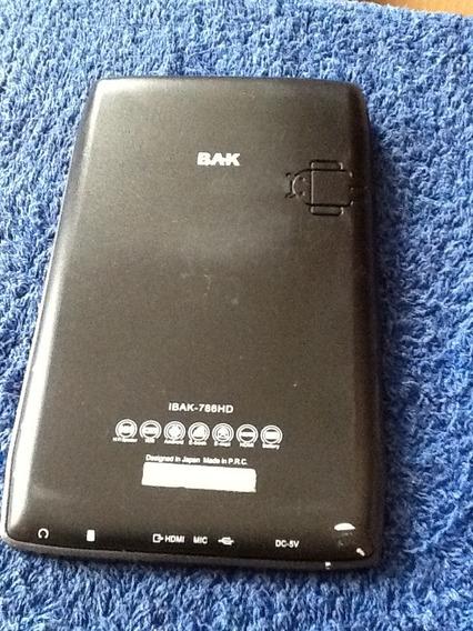 Tablet Bak Ibak 786-hd Com Defeito