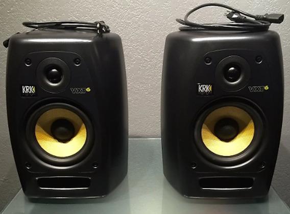 Krk Vxt 6 (par)- Monitor De Áudio Profissional