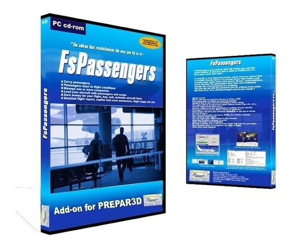 Flight Simulador X - Fspassengers X