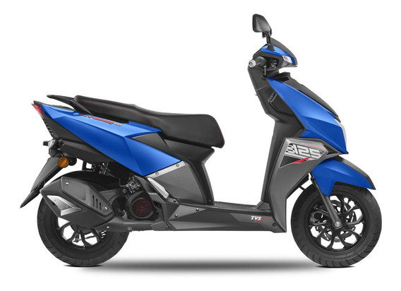 Scooter Tvs Ntorq 125 0km 2020 N Torq 999 Gris Elite Zr