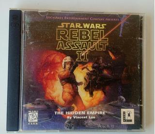 Star Wars Rebel Assult 2 The Hiden Empire 2 Cd Juego Pc Ori