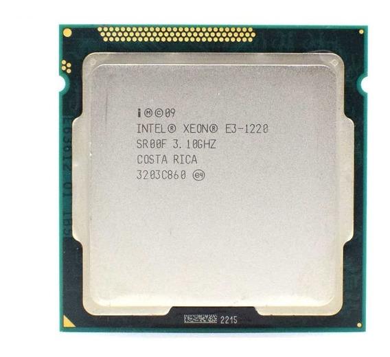Intel Xeon E3 1220 V1 3.10 Ghz - Socket 1155
