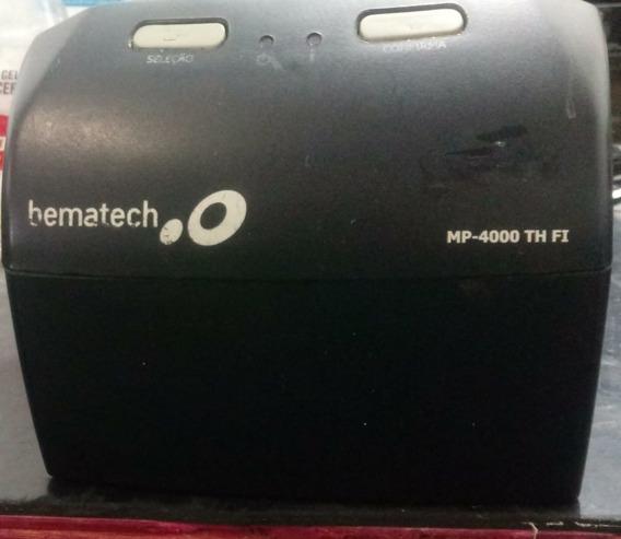 Impressora Térmica Bematech Mp4000 Th 40 No Estado Leia Desc