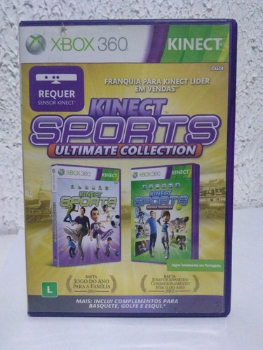 Jogo Kinect Sports Ultimate Collection Xbox 360 R$99,90