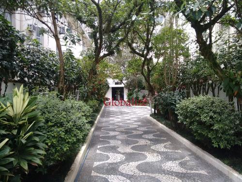 Imagem 1 de 26 de Apartamento Com 2 Dormitórios À Venda, 105 M² Por R$ 489.000,00 - Gonzaga - Santos/sp - Ap0106