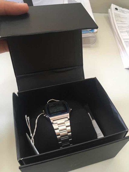 Relógio Casio Vintage Prata Original Na Caixa