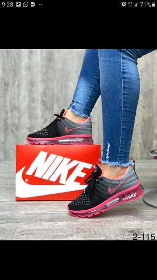 Zapatos Deportivos Dama Nike Airmax