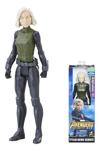 Figura De Acción Avergers Black Widow Hasbro Infinity 12