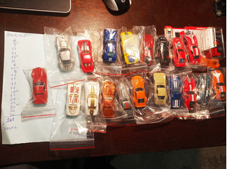 20 Minis Hot Wheels