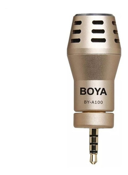 Boya Microfone By-a100 Apple iPhone iPad Android - Somos Revenda Autorizada