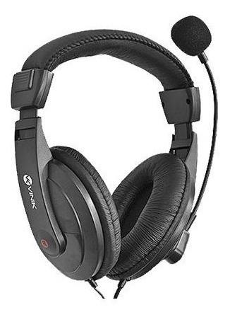 Headset Multimídia C/controle De Volume E Microfone Pc Gamer