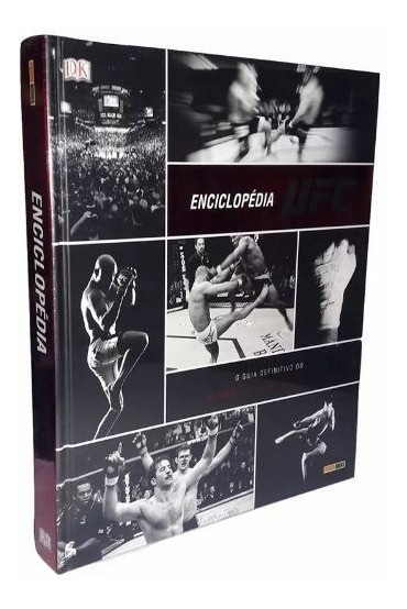 Enciclopédia Ufc - Volume 1 (português) Capa Dura - Panini