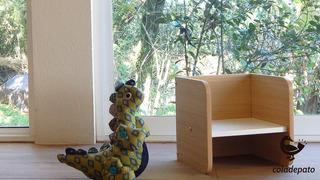 Silla Cubo Montessori Ch - 3 Posiciones - Oferta Reyes