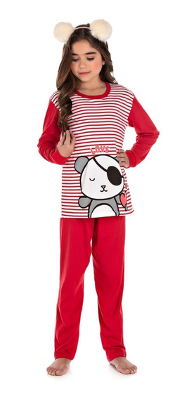 Pijama Infantil Bicho Bagunça Ursinha