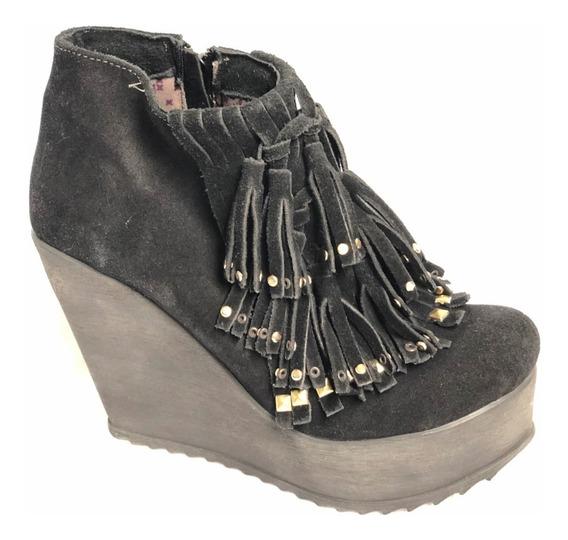 Zapato Mujer Heyas Emily Flecos
