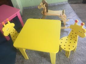 Mesas E Cadeiras Infantil Frete Grátis Para Todo Brasil