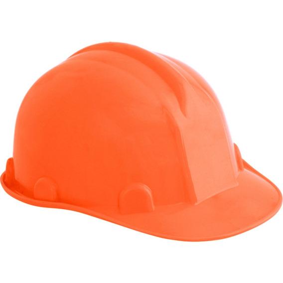 Capacete Com Aba Frontal Laranja - Vonder (laranja)
