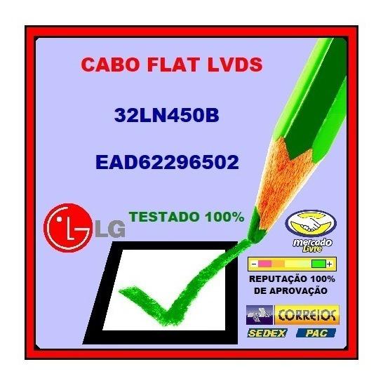 Cabo Flat Lvds Lg 32ln540b / Ead-62296502