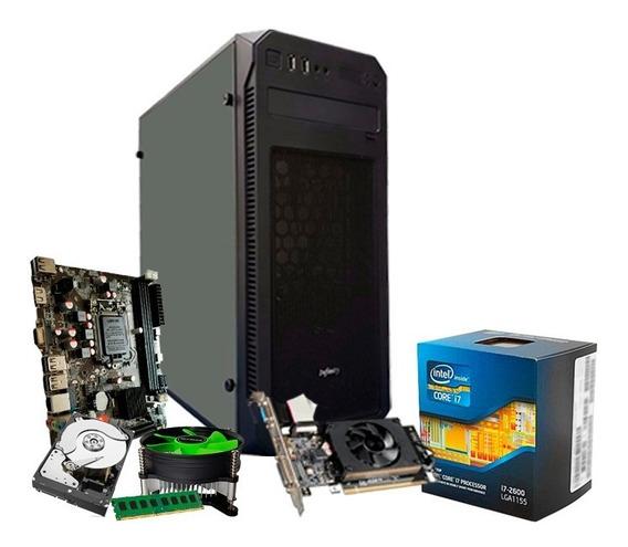 Pc Gamer I7 3.8 Ghz, 8gb, Geforce 2gb 710 Gt, 1tb + Nfe
