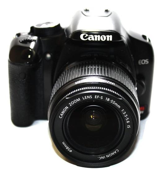 Câmera Canon Eos Rebel Xsi Com Lente 18-55m Is Revisada