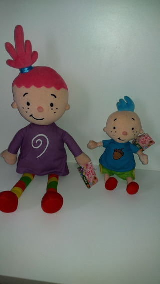 Boneca Pinky Dinky Doo + Tyler- Raro-pelucia-promocao