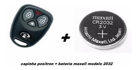 Combo 02 Capa Controle Alarme Positron Px32+ 02 Bateria Orig