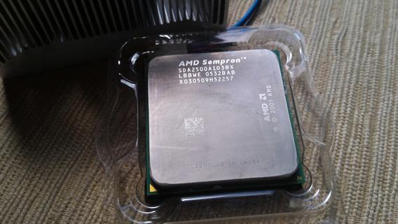 Processador Amd Sempron 2500+ 64 Bits Com Cooler Original