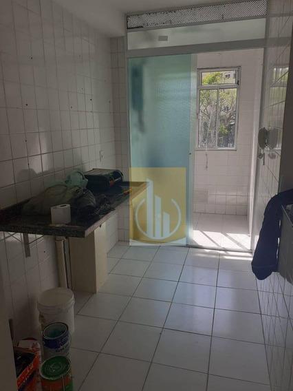 Apartamento Com 2 Dormitórios Para Alugar, 48 M² Por R$ 800,00/mês - Jardim São Miguel - Ferraz De Vasconcelos/sp - Ap0184