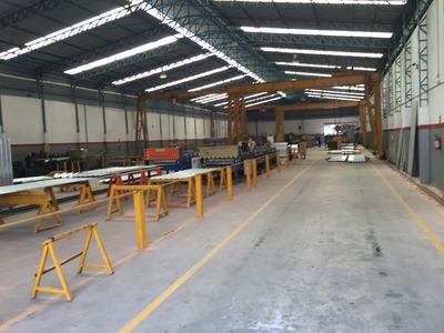 Galpão Industrial Com Ponte Rolante E Cabine Primaria