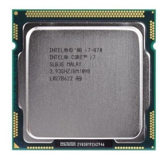 Processador Intel Core I7-870 2,93ghz Socket 1156