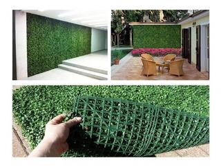 Muro Verde Follaje Artificial 60x40cm Pack 12