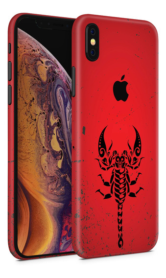 Skin Red Scorpion Para Telefonos Apple iPhone