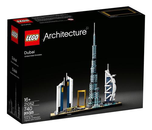 Lego Architecture A Cidade De Dubai Com 740 Peças 21052