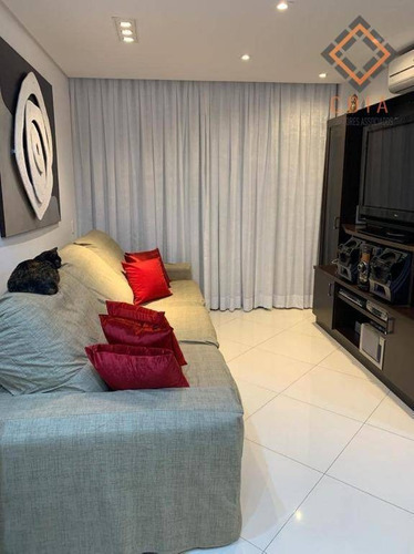 Imagem 1 de 30 de Apartamento Para Compra Com 1 Quarto, 1 Suite E 2 Vagas Localizado Em Moema Pássaros - Ap52286
