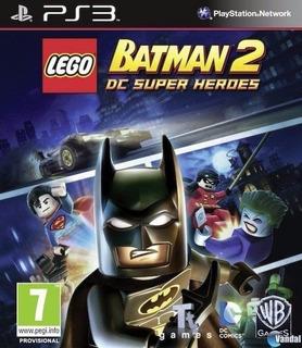 Lego Batman 2 Dc Super Heroes Ps3 Digital Español Gamesmx