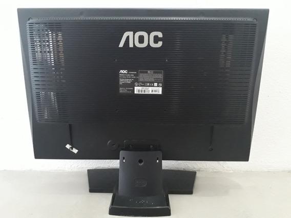 Monitor Lcd Aoc 22 Polegadas 2210s Riscos Na Tela Funciona