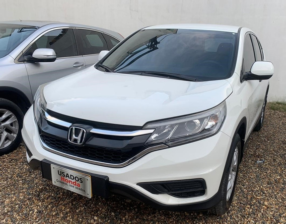 Honda Crv City Plus 2016 Blanca Excelente Estado