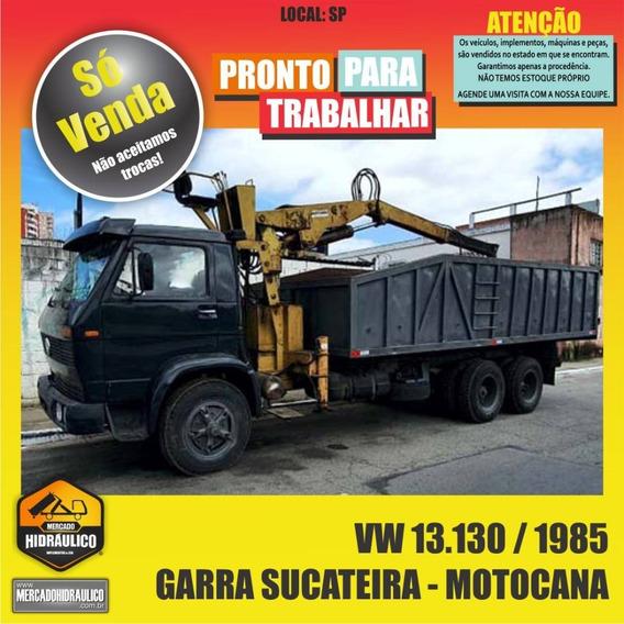 Vw 13.130 / 1985 - Garra Sucateira Motocana