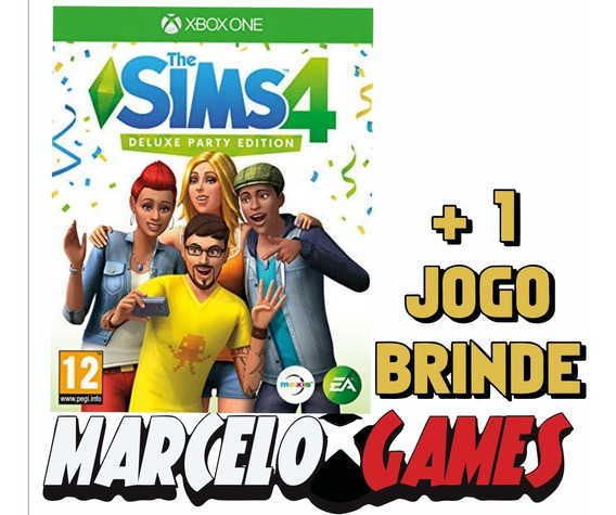 The Sims 4 Deluxe Party Edition Xbox One Midia Digital