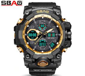 Relógios Masculinos Esportivo Digital Led Pulseira Silicone