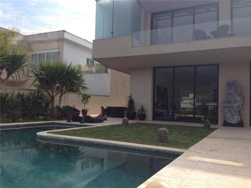Casa  Residencial À Venda, Tamboré São Paulo. - Ca0165