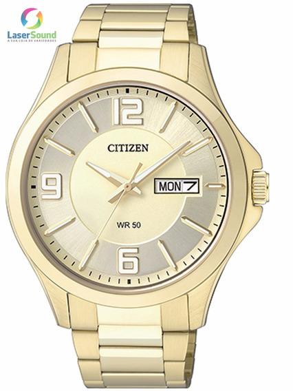Relógio Citizen Masculino Tz20537g, C/garantia E Nf