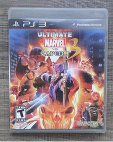 Ultimate Marvel Vs Capcom 3 Ps3 - Mídia Física Lkl