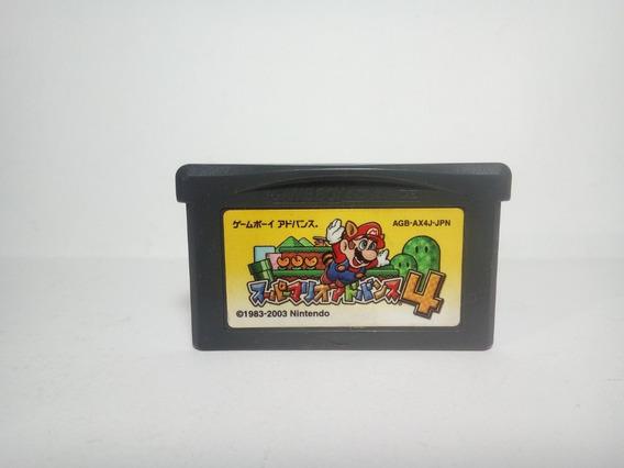 Super Mario Advance 4 - Super Mario Bros 3 - Gba - Original